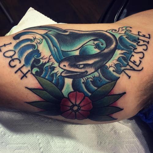 loch ness monster tattoo